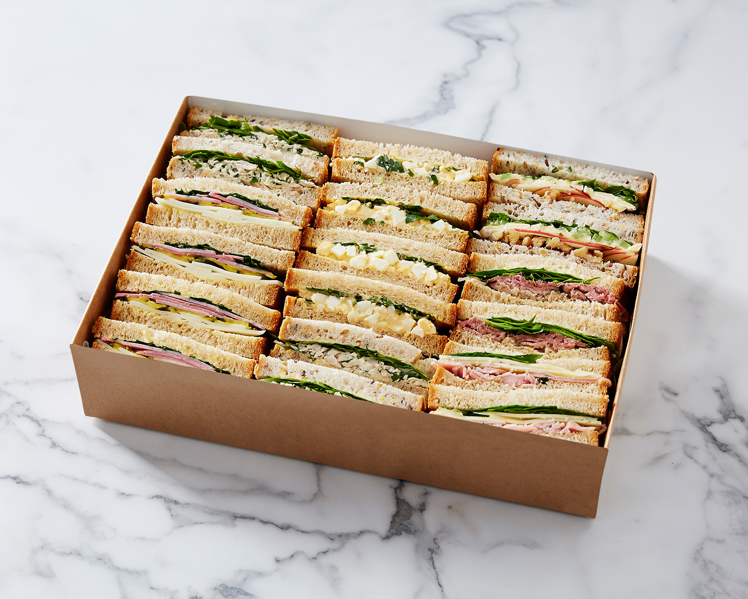 Sandwich platter sliced bread only earl canteen breads altavistaventures Image collections