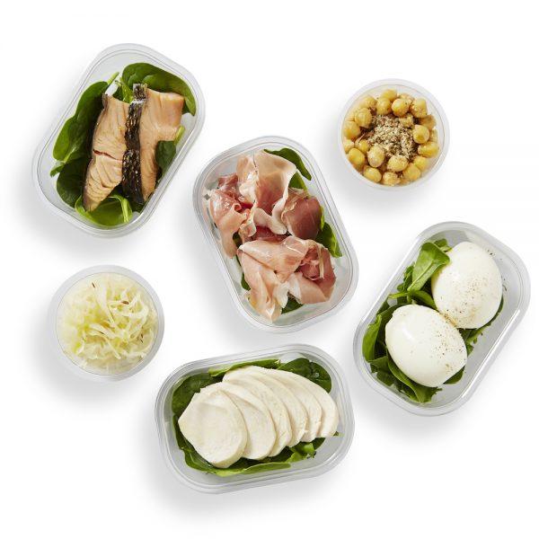 Protein & Veggie Pots